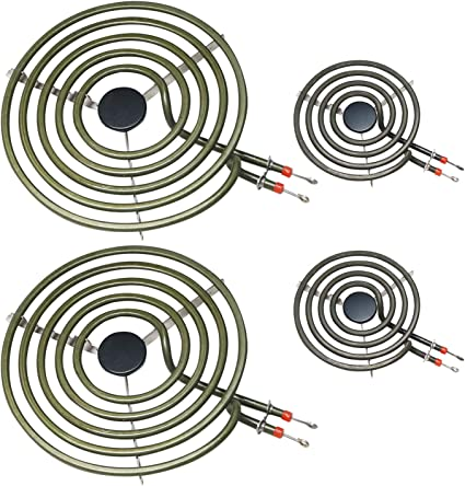 POINWER MP22YA 電気 レンジ バーナー 要素 ユニット セット 2- MP15YA 6.5 2- MP21YA 8