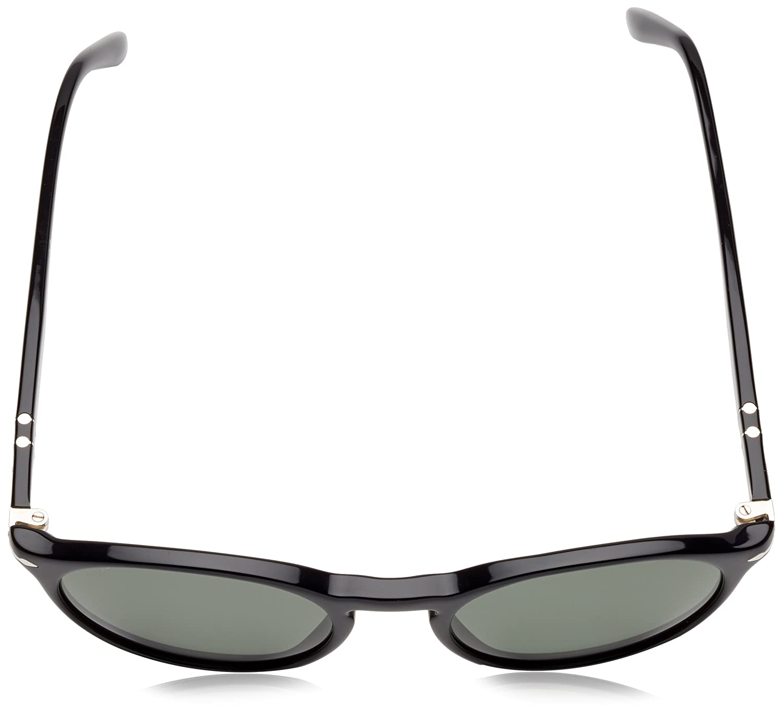 Amazon.com  Persol PO3092SM 901431 Black PO3092SM Round Sunglasses Lens  Category 3 Size 50m  Persol  Shoes b9110e51eead3