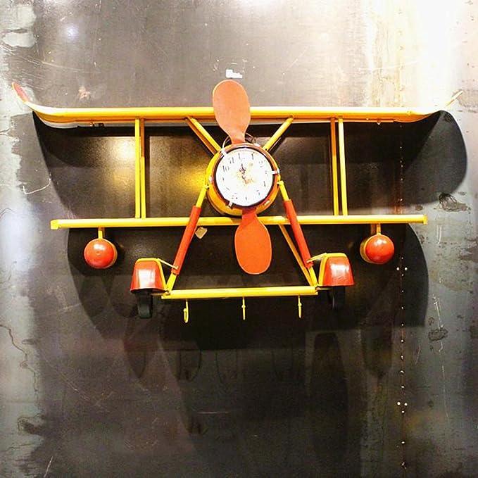 CSQ Creativo Colgante de Pared Nostalgia Vintage a Gran Escala Modelado de Aviones en la Pared Decoraciones Bar Cafe Stores Decoración de Pared Colgante 125 ...