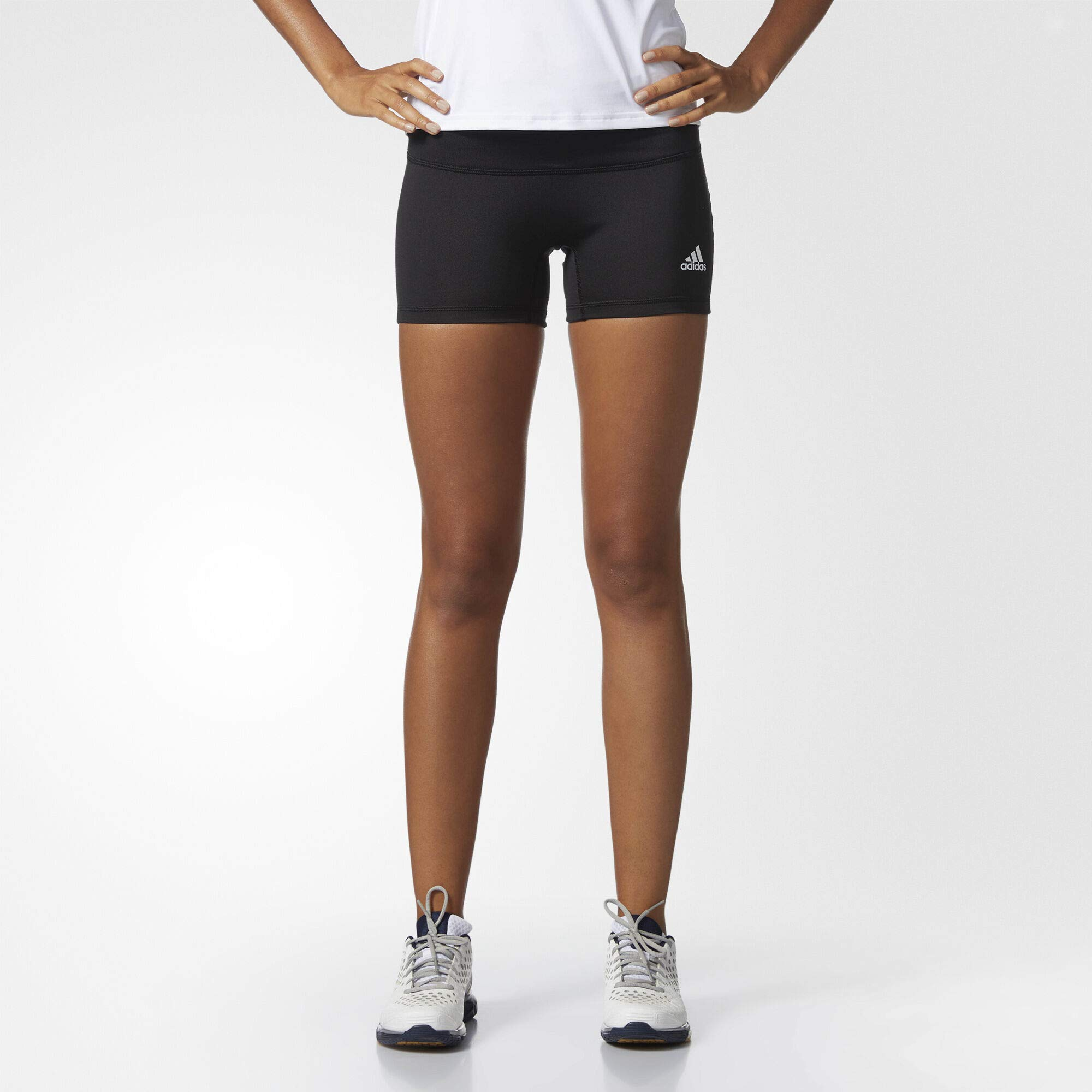 adidas Women's 4 Inch Short Tights, Black, X-Small by adidas