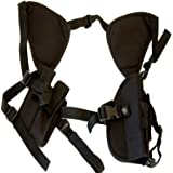 Best Concealed Carry Shoulder Holster - Works Great for 1911, Revolvers, Pistols, & Hand Guns - Universal Fit for Glock, Springfield, Taurus, MTAC, Kimber, Walther,Beretta, Ruger, Colt, & All Others!