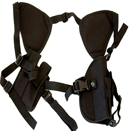 Best Concealed Carry Shoulder Holster - Works Great for 1911, Revolvers, Pistols, & Hand Guns