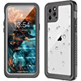 GOLDJU iPhone 11 Pro Waterproof Case【2019 New】 360°Protective Built-in Screen Protector IP68 Underwater Shockproof…
