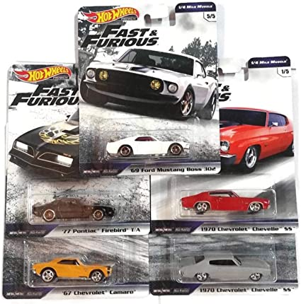 Hot Wheels Fast and Furious III 1970 Chevrolet Chevelle SS 1-4 Mile Muscle