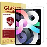 OMOTON [2 Pack] Screen Protector Compatible with iPad Air 4 10.9 Inch 2020 / iPad Pro 11 [Compatible with Apple Pencil] - Tem