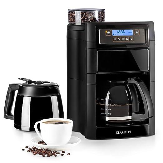 Klarstein Aromatica II Set máquina de café con molinillo conico ...
