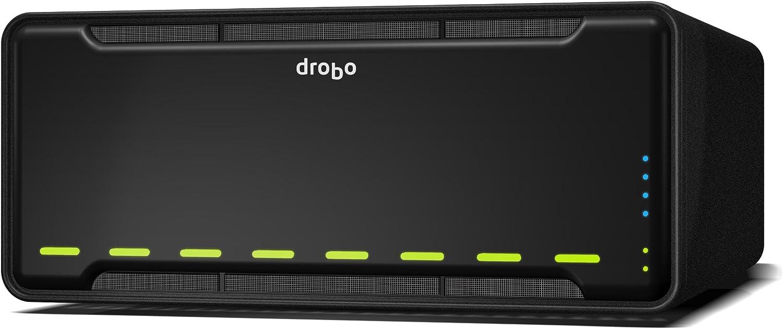 Drobo B810i Ethernet Bastidor (3U) Negro Servidor de Almacenamiento - Unidad Raid (Unidad de Disco Duro, Unidad de Disco Duro, SSD, SATA, 3.5