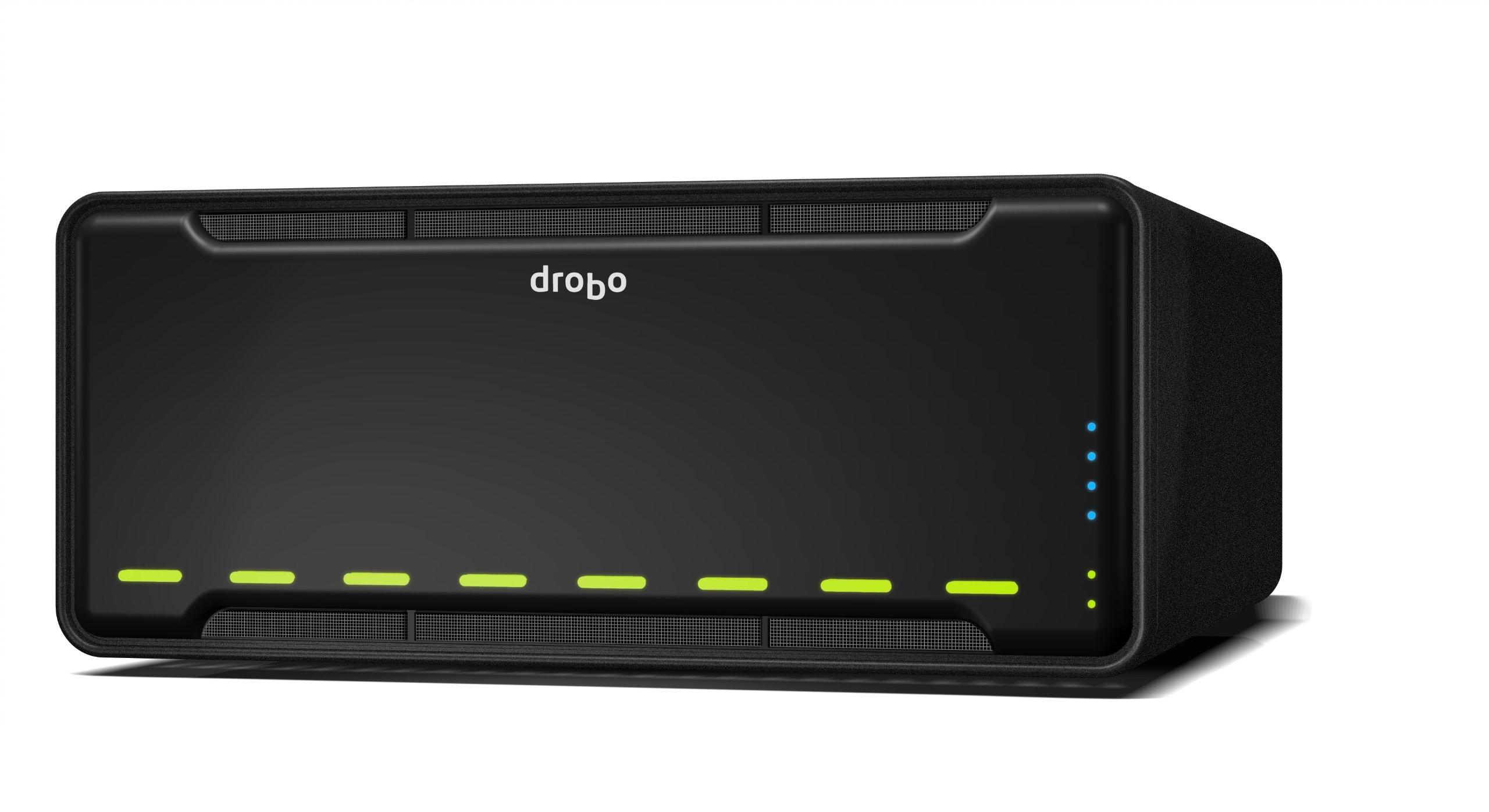 Drobo B810i - 8 Bay SAN Storage Array for Business- iSCSI x 2 Ports (DR-B810I-3A21) by Drobo