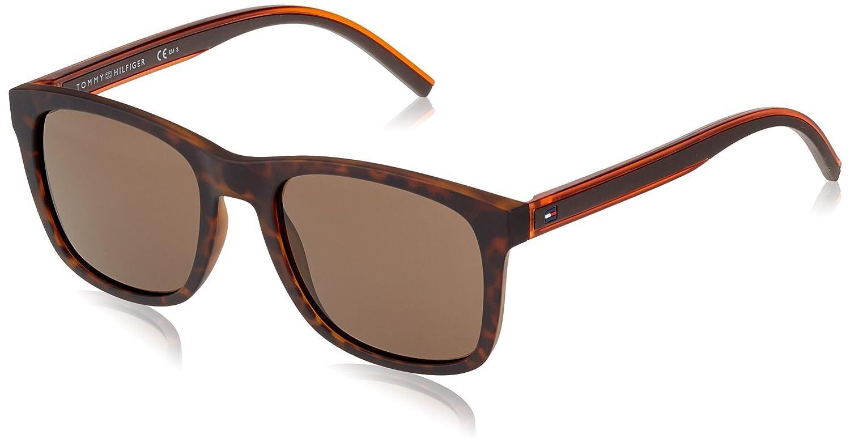 Tommy Hilfiger TH 1493/S IR, Gafas de sol Unisex-Adulto, Havana Brown 53