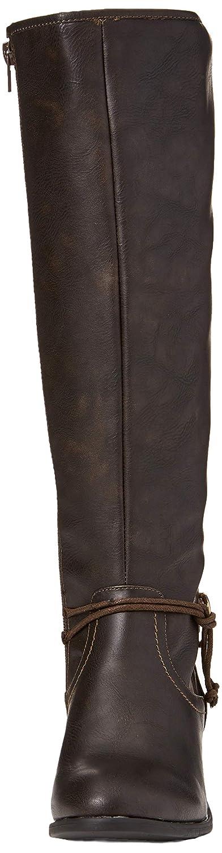 Joe Brauns Stiefel Damen Simply Stylish Lace Back Stiefel Brauns Langschaftstiefel Braun (Braun A) 94d73a