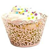 LEFV™ 24pcs Cupcake Wrapper Filigree Little Vine