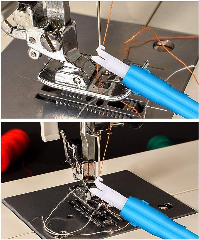 zukabmw 6 piezas de inserción de agujas de coser automática ...
