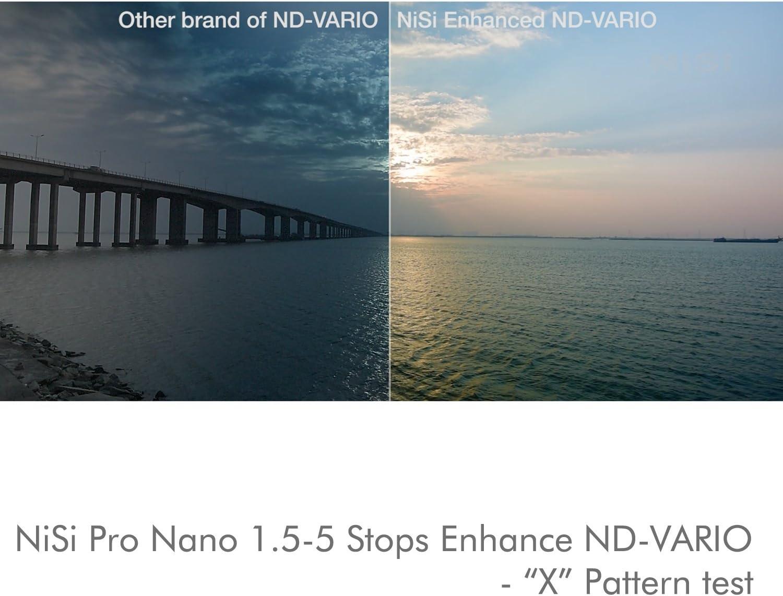 Pro Nano 1.5-5 Stops Enhance ND-Vario 72mm NiSi Variable ND Filter