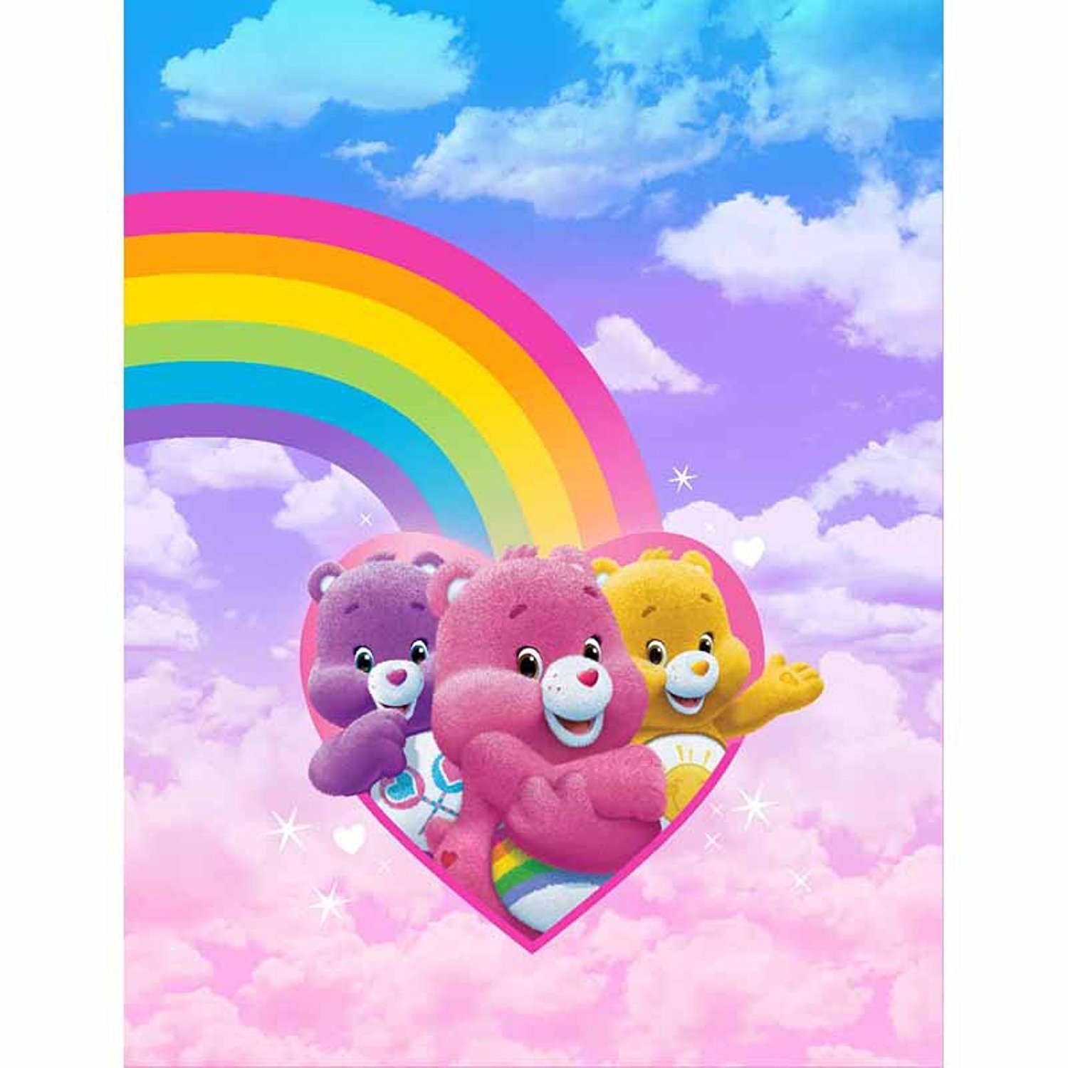 Care Bears Rainbow Day Reversible Comforter By American Greeting Ebay