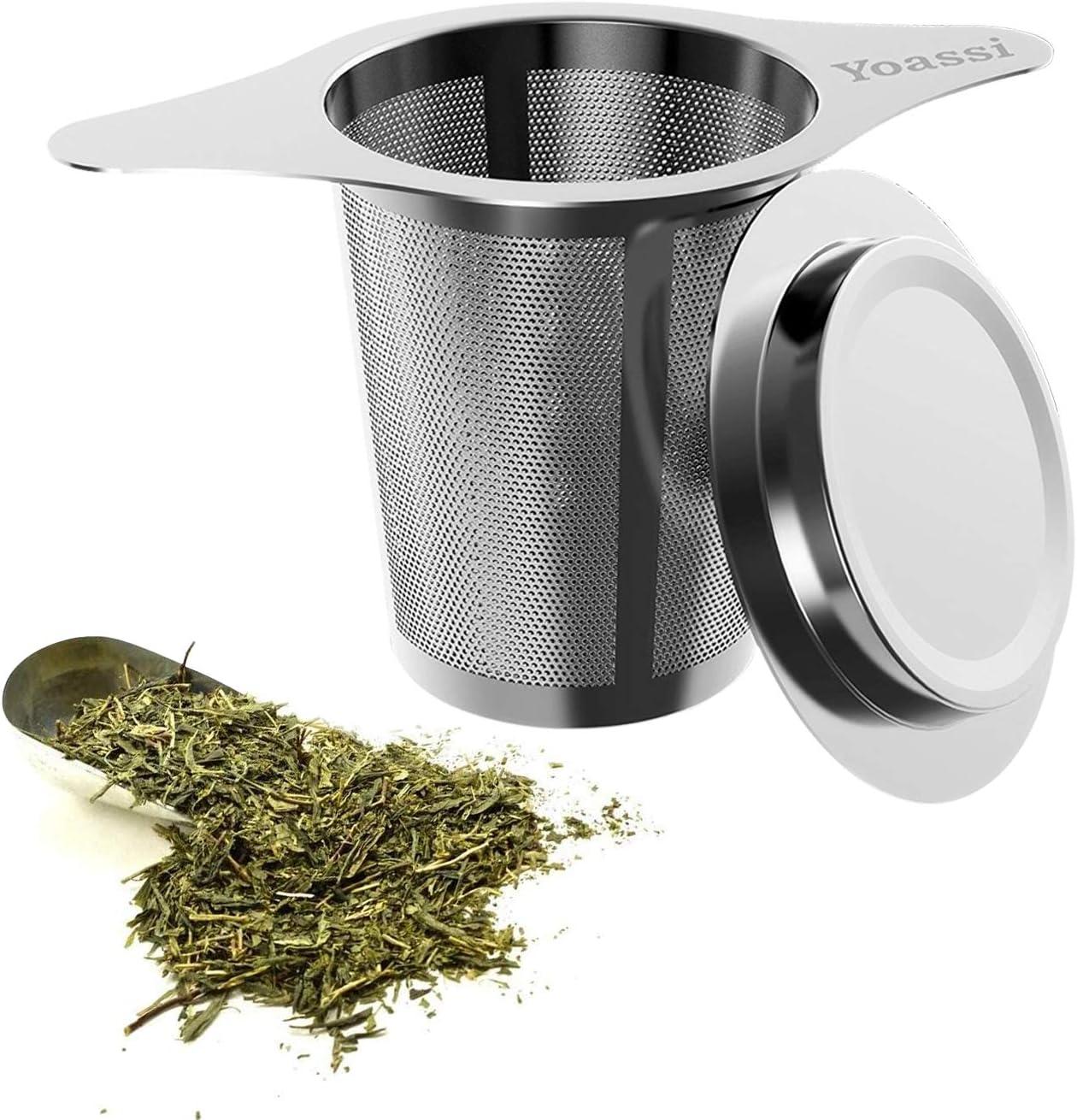 12Pcs 45MM Acier inoxydable Acier inoxydable Herbal /épices Boule Passoire /à th/é Infuseur /à th/é en vrac Lot de filtres outils