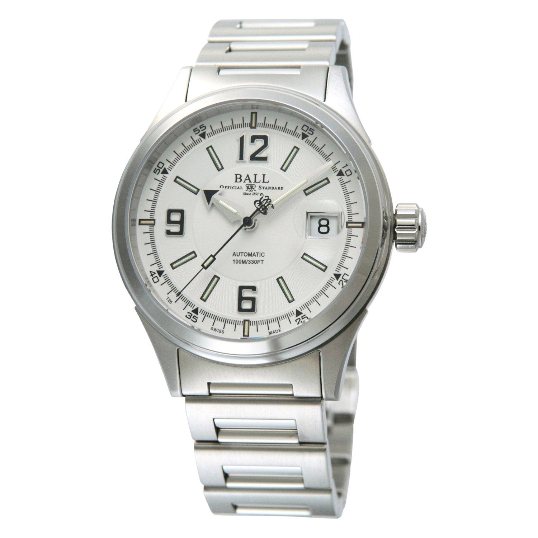 [ボールウォッチ]BALL Watch 腕時計 レーサー ホワイト&ブラック文字盤 ステンレススチール 100m防水 NM2088C-S2J-WHBK メンズ 【並行輸入品】 B00OYLSY4K