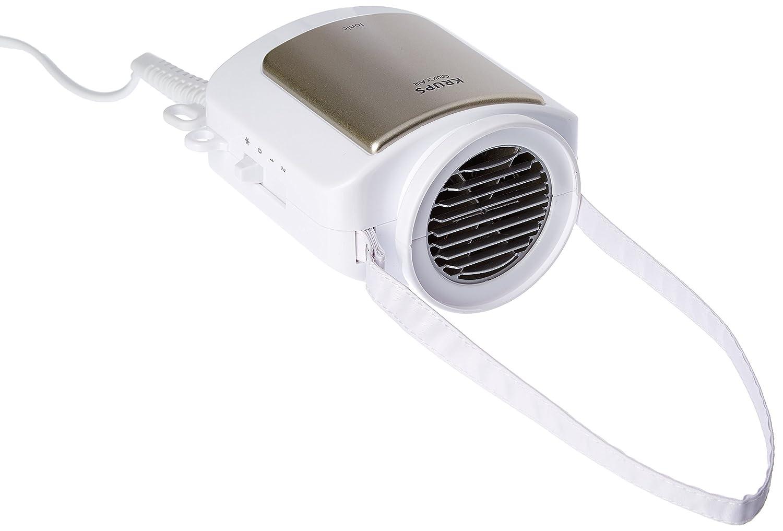 Krups CF 6000 600W Blanco secador - Secador de pelo (Blanco, Con agujero en la empuñadura para colgar, Termoplástico, 600 W, 1 kg) CF6000
