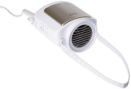 Krups CF 6000 secador Blanco 600 W - Secador de pelo (Blanco, Termoplástico,