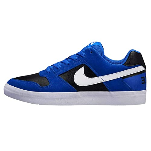 innovative design 78903 de747 Nike Mens Leather Sb Delta Force VulcHyper Shoes (Blue and White, 12 US)  Buy Online at Low Prices in India - Amazon.in