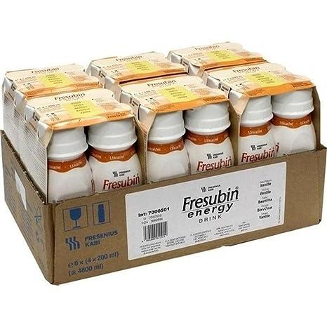 Fresenius Kabi Fresubin Energy Drink Vanilla Drink bottle, 6 x 4 x 200 mlindividual pack1