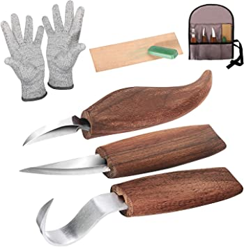 whittling knife set
