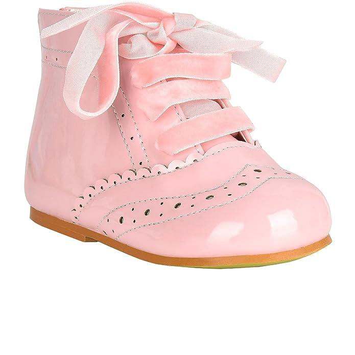 b9e84e2d5a7cb AEL Girls Bridesmaids Party Shoes Patent Shoes Infant Sizes UK  1,2,3,4,5,6,7,8,9,10