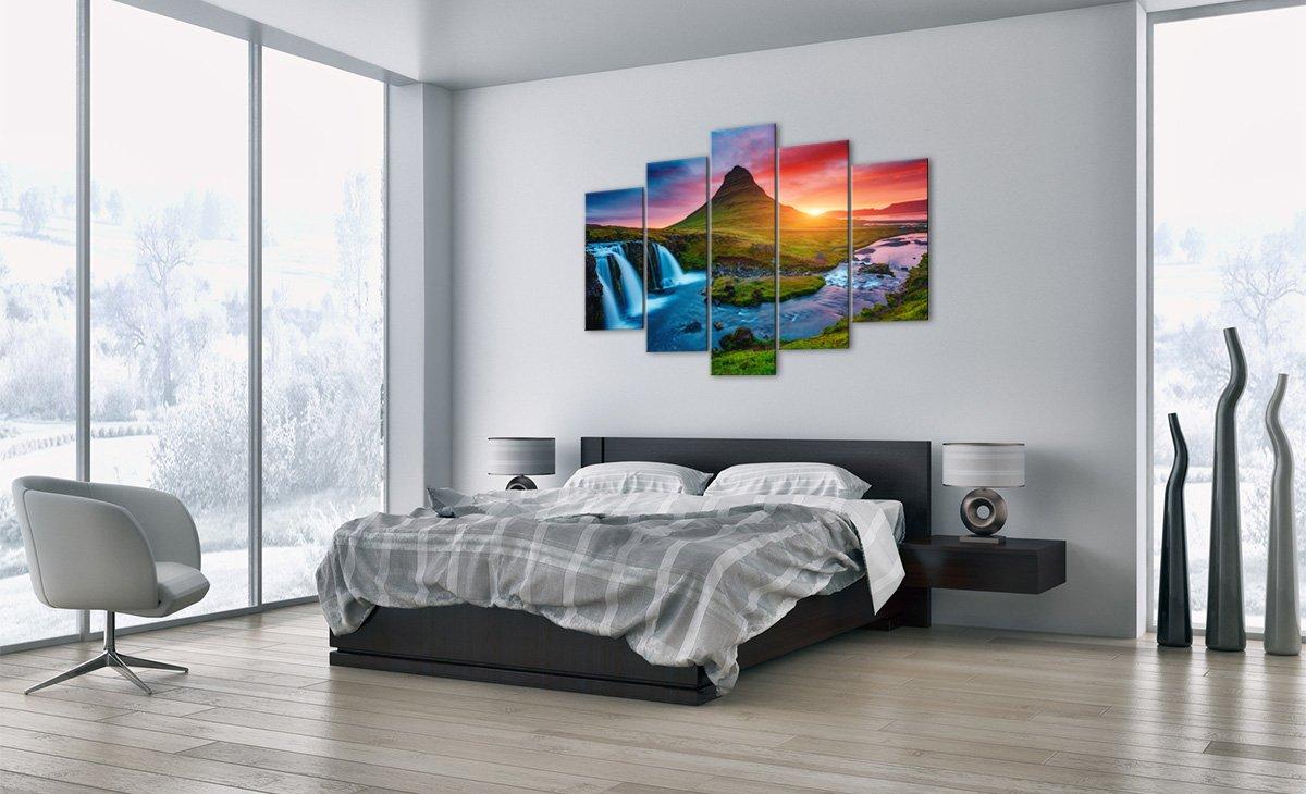Bild auf Teile Leinwand - Leinwandbilder - fünf Teile auf - Breite  150cm, Höhe  100cm - Bildnummer 2963 - fünfteilig - mehrteilig - zum Aufhängen bereit - Bilder - Kunstdruck - EA150x100-2963 bf9aad