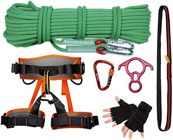HANG Kit de Escalada en Roca Escalada al Aire Libre Equipo ...