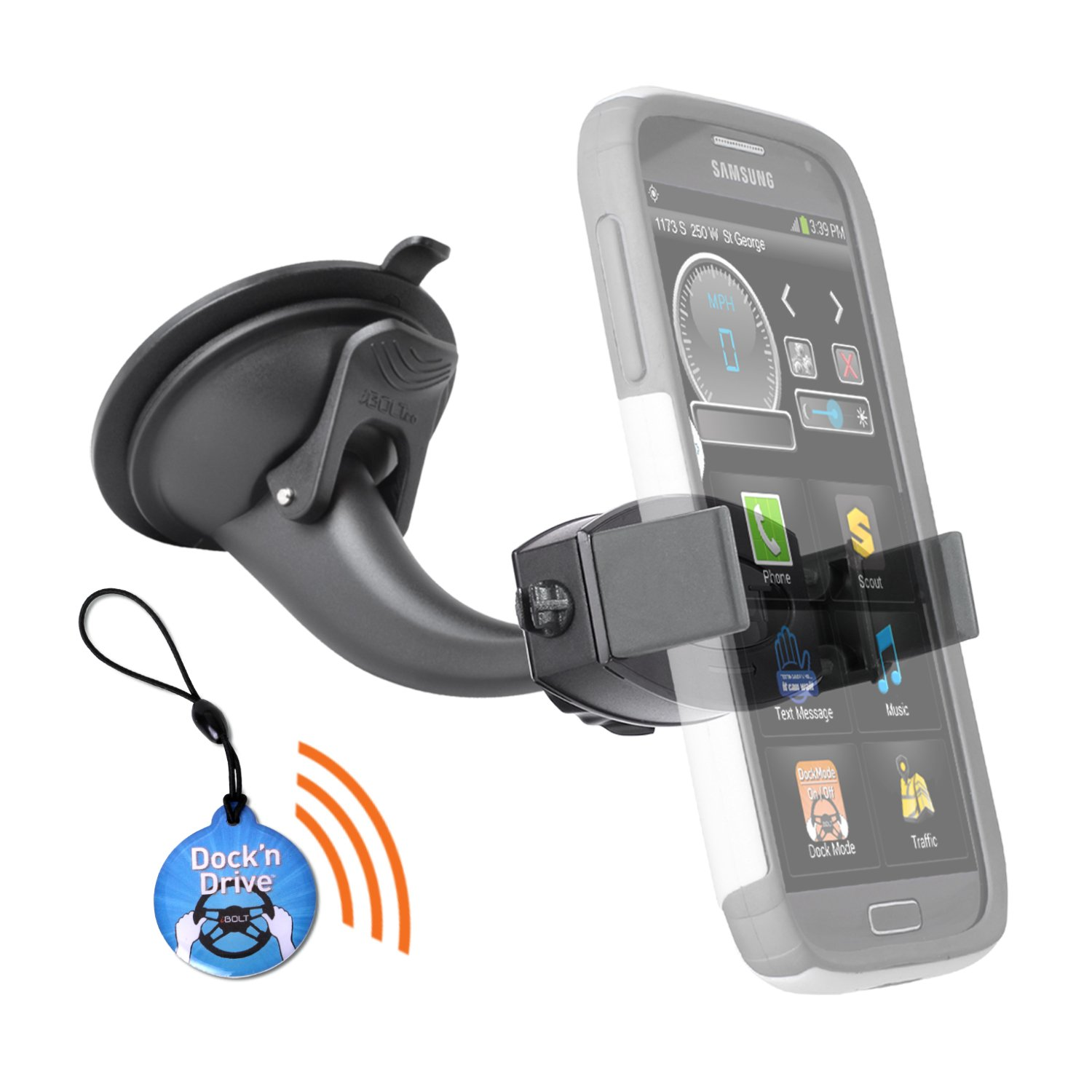 iBOLT miniPro Connect Kit for iPhone, Samsung, HTC, Motorola, Nokia, LG, and Sony.