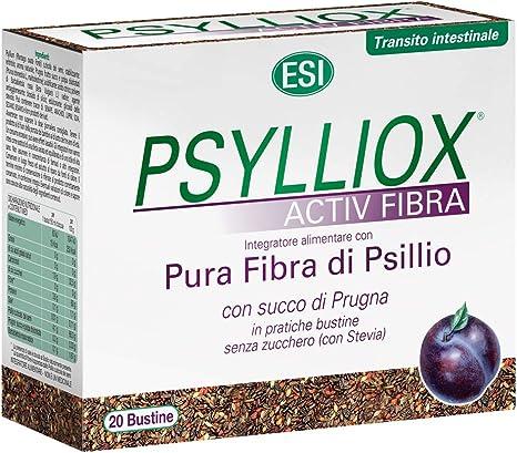 60 BUSTINE GUSTO ARANCIA 3X PSYLLOGEL FIBRA Integratore di Psyllium Pura