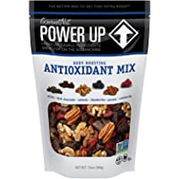Power Up Trail Mix, Antioxidant Trail Mix, Non-GMO, Vegan, Gluten Free, No Artificial Ingredients, Gourmet Nut, 13 Ounce Bag, Blue, 13 Ounce (Pack of 1)
