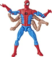 Marvel Figura Six-Arm Spider-Man Spider-Man Legends, 6 Pulgadas
