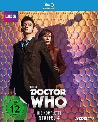 Doctor Who Die Komplette 4 Staffel Blu Ray Amazonde