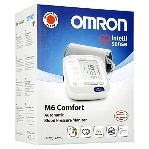 Amazon.com: Omron M6 Comfort Upper Arm Blood Pressure Monitor: Health & Personal Care