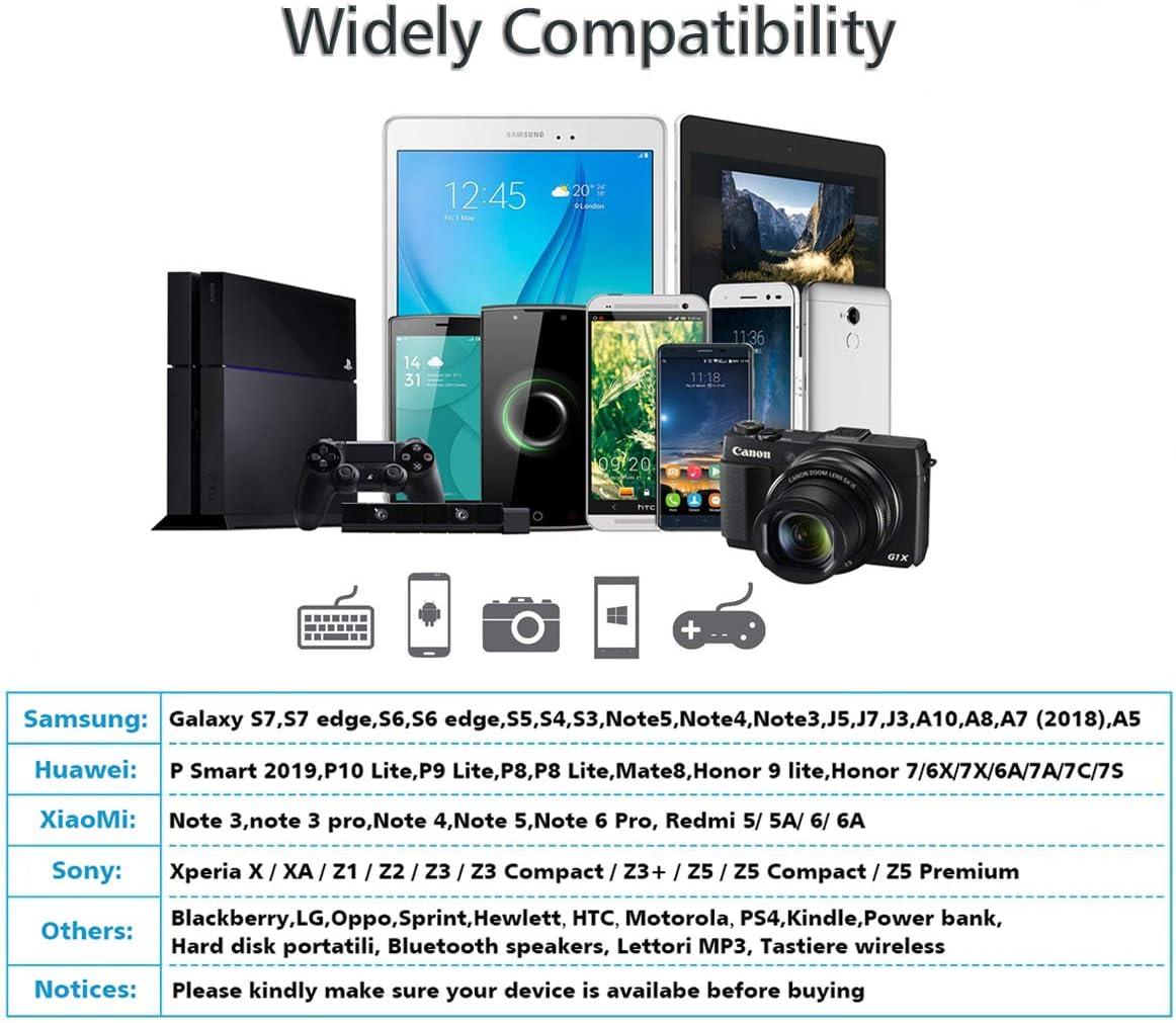 Micro USB Ladekabel Nylon Handy Schnellladekabel Android Ladekabel f/ür Samsung S7//S6//S5//J7//J5//Note5 3Pack:1M+2M+3M Micro USB Kabel Aioneus Kindle Xiaomi Sony HTC ps4 und mehr Huawei
