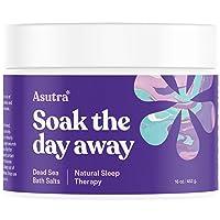 ASUTRA Dead Sea Bath Salts (Natural Sleep Therapy), 16 oz | Sweet Dreams & Insomnia...