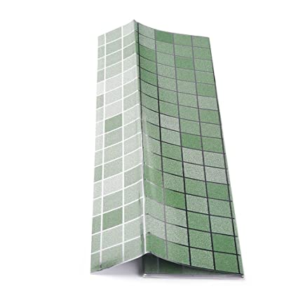 Buy Fancyku Kitchen Wall Sticker Tile Wallpaper Anti Oil Paper Fumes