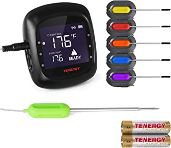 Tenergy Solis Digital 100 Feet Wireless Meat Thermometer