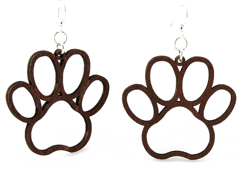 Dog Paw Earrings