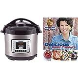"""Nuwave 8 qt. Digital Pressure Cooker with """"Delicious Under Pressure"""" Cookbook"""
