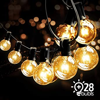 Guirnalda Bombillas Exteriores Luminosas,VIFLYKOO Guirnalda Luces Exterior bombillas de hadas en el exterior (