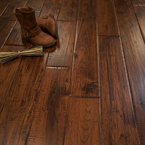 Hickory Character (Canyon Crest) Prefinished Solid Wood Flooring 5 ...