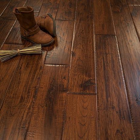 hickory character canyon crest prefinished solid wood flooring 5u0026quot x 34u0026quot