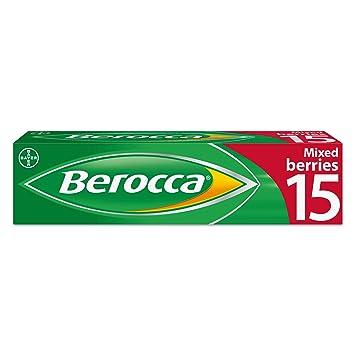 Berocca Mezclado Frutos Del Bosque Sabor-15 Pastillas: Amazon.es: Salud y cuidado personal