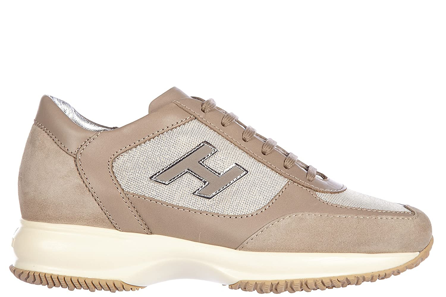 | Hogan Women's Shoes Leather Trainers Sneakers