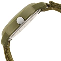Briefing x Timex Over-Size Camper 1443-499-1101: Olive