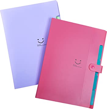 2 set United Office Organiser Files sorting /& filing documents up to size A4
