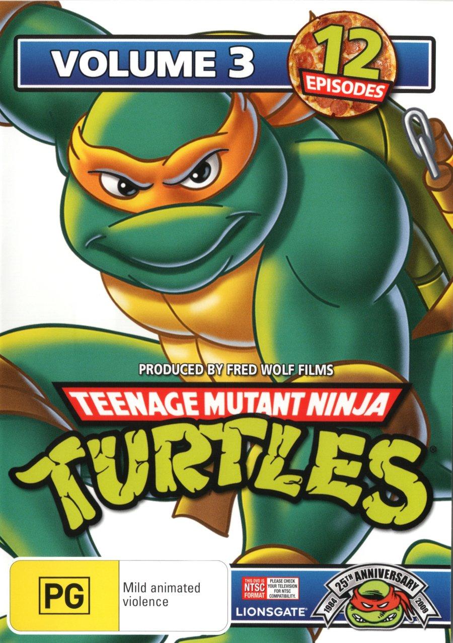 Teenage Mutant Ninja Turtles - Volume 3 Edizione: Australia ...