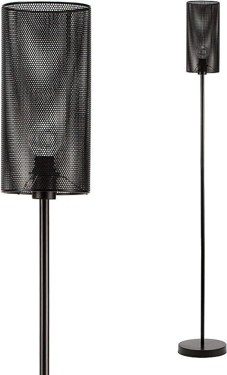 Pauleen 48089 Black Mesh lampadaire Max 20/W E14 Noir 230V m/étal