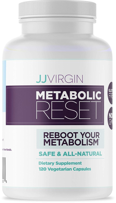 JJ Virgin Metabolic Reset – Appetite Fat Metabolism Support 120 Capsules